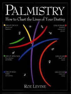 BOOK PALMISTRY LINES OF YOUR DESTINY ROZ LEVINE