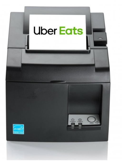Compatible Receipt Uber Eats Thermal Bluetooth Printer - Black TSP143IIIBI-230