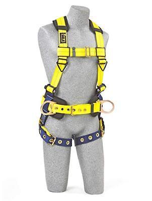 3m Dbi-sala Delta Tongue Buckle Construction Harness - Large