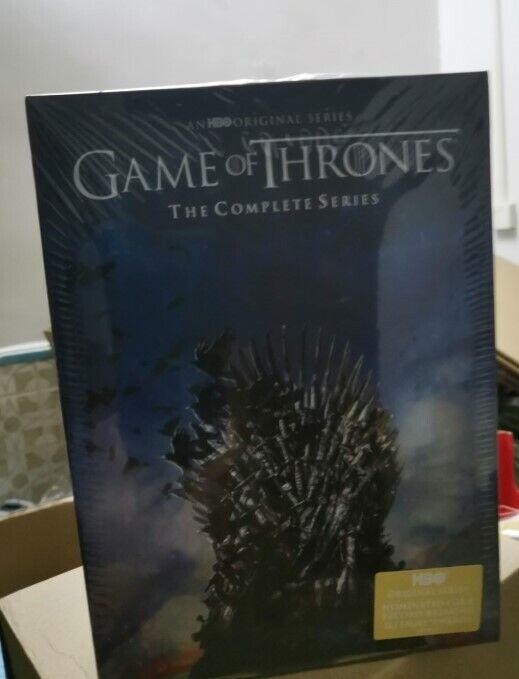 Game of Thrones Complete Series Seasons 1-8 (DVD, 38-Disc Set)  DVD USA