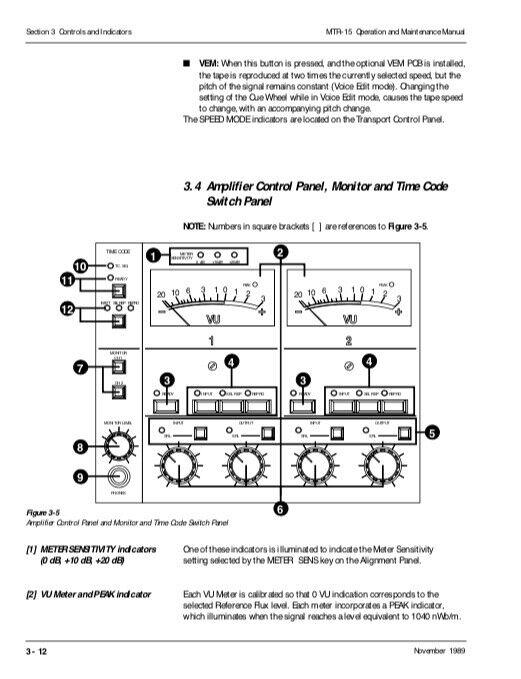 Otari MTR-15 Tape Recorder OPERATION And MAINTENANCE MANUAL SCHEMATIC DIAGRAMS - $24.95