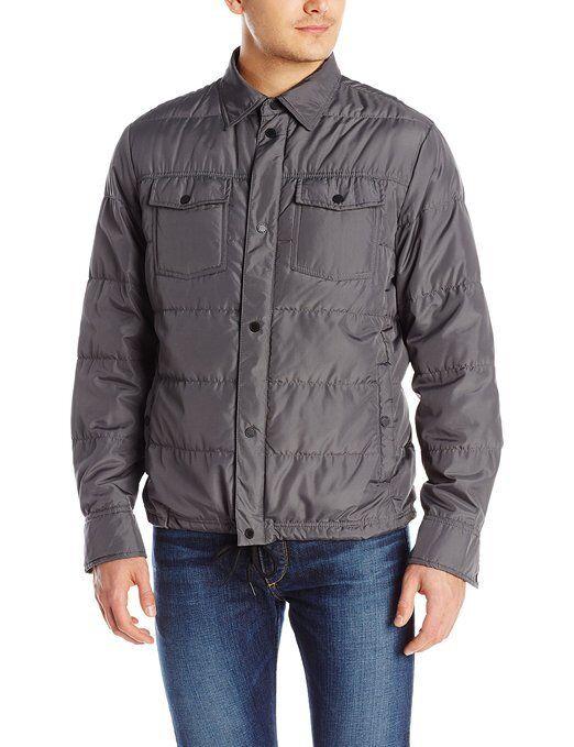 32 Degrees Weatherproof  Men's Heat Packable Shirt Jacket As