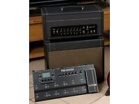 Line 6 DT25 Valve Head & matching Cab with ROQSOLID covers & HD500X
