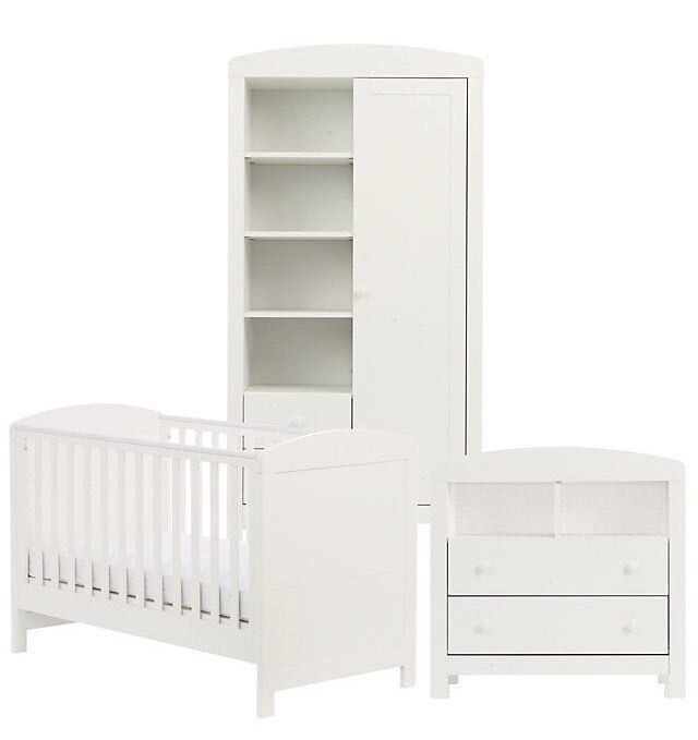 padstow nursery furniture white mothercare in formby. Black Bedroom Furniture Sets. Home Design Ideas