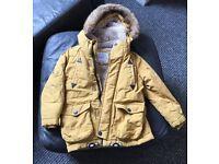 M&S Boys Coat 4/5 years