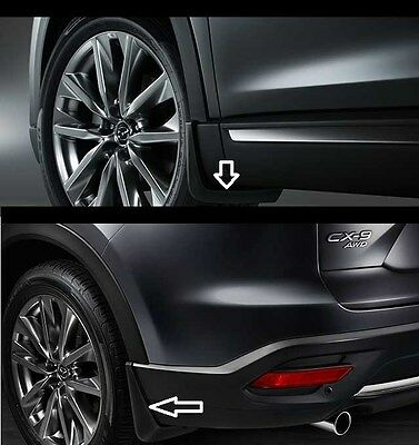 2016-2020 Mazda CX-9 Front and Rear Splash Guards  0000-8H-N28 0000-8H-N29