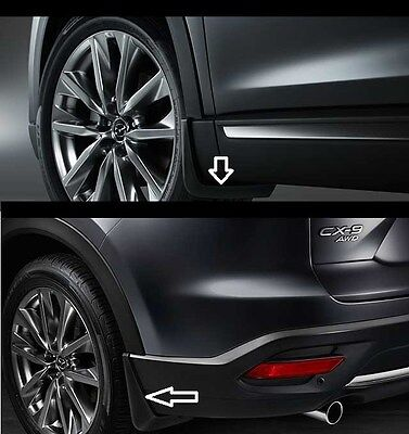 2016 - 2019 Mazda CX-9 Front and Rear Splash Guards  0000-8H-N28 0000-8H-N29