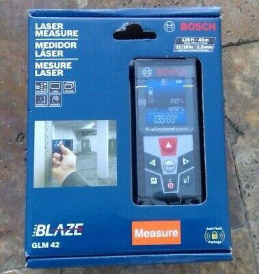 Bosch Glm 42 Blaze 135ft Laser Measure