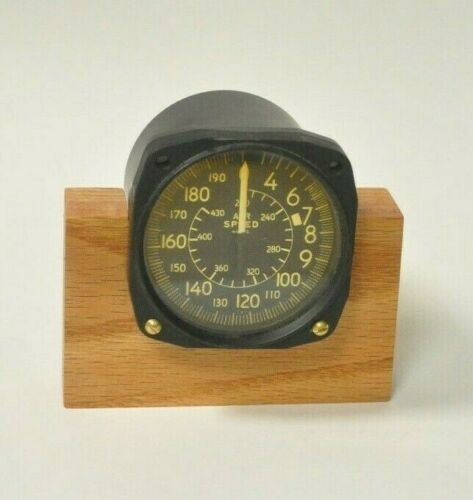 Vintage Air Speed Indicator - from a F3F  RARE