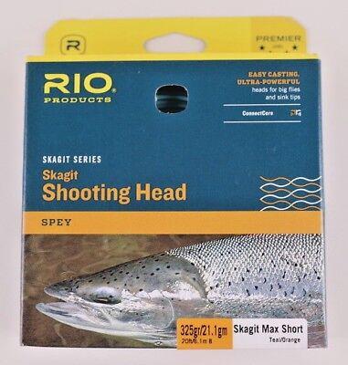 Rio Skagit Short Head - Rio Skagit Max Short 325 Grain Shooting Head Free Fast Shipping 6-20985