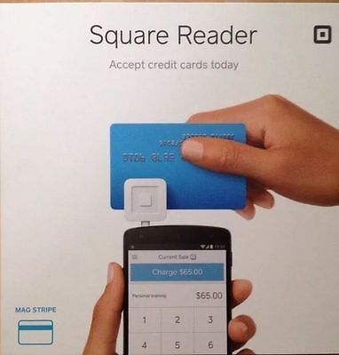 White Square 2014 Credit Card Reader For Apple Android