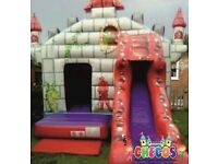 Bouncy castle hire from just £70