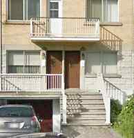 Ahunstic 5 1/2 Duplex with Basement for Rent $1050