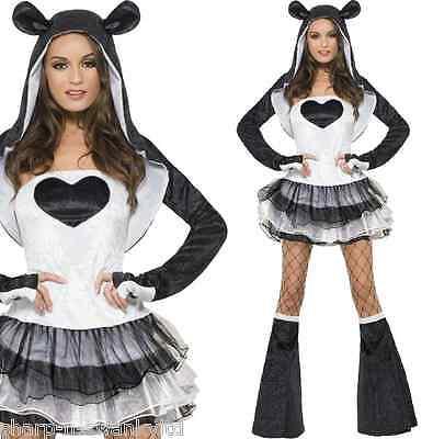 Ladies Sexy Panda Chinese Animal Festival Halloween Fancy Dress Costume - Chinese Halloween Costume