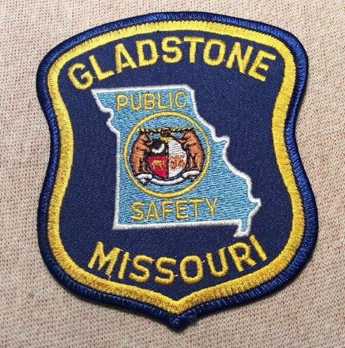 MO Gladstone Missouri Public Safety Patch