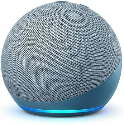 AMAZON Echo Dot (4. Generation) mit Alexa Smart Speaker Blaugrau 2020 NEU...