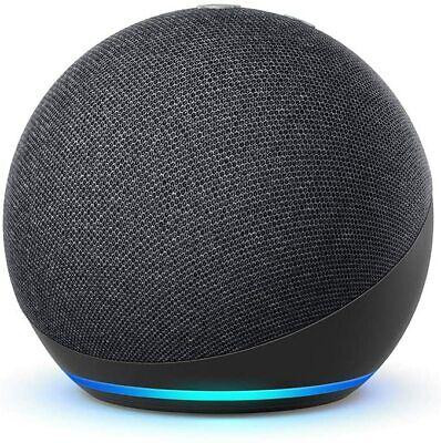 AMAZON Echo Dot 4. Generation mit Alexa Smart Speaker Grey Charcoal 2020...