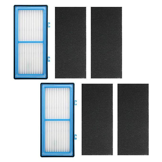 2x replacement hepa air filters air purifiers