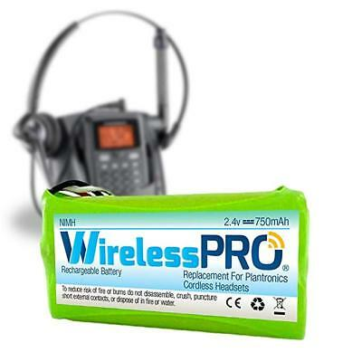 WirelessPro Replacement Battery Rechargeable for Plantronics Headset Phone CT14 Plantronics Cell Phone Battery