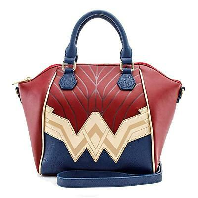 Loungefly Dc Justice League Wonder Woman Super Hero Handtasche Portemonnaie