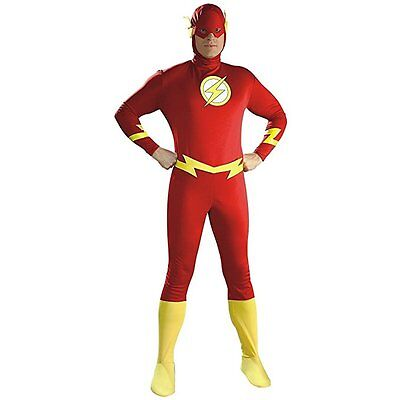 Rubies The Flash Barry Allen CW DC Comics Adult Mens Halloween Costume 16907 - The Flash Cw Costume Halloween