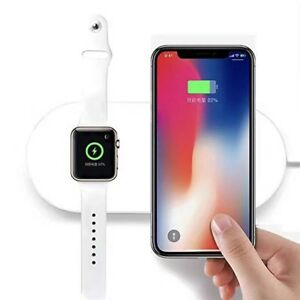 2-in-1  Wireless Charger For iPhones and Apple Watch