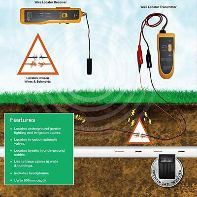 Kolsol F02 Underground Wire Locator Control Cabletracker With Earphone Cable