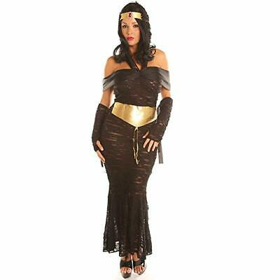 Women Costume Fancy Ball Party Christmas Cosplay Nile Adult Egyptian Dress Up](Egyptian Dress Up)