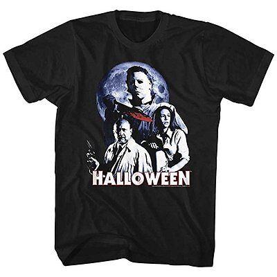 Halloween Movie Ensemble Michael Myers Horror Adult Mens T Tee Shirt HAL518](Halloween Shirts Adults)