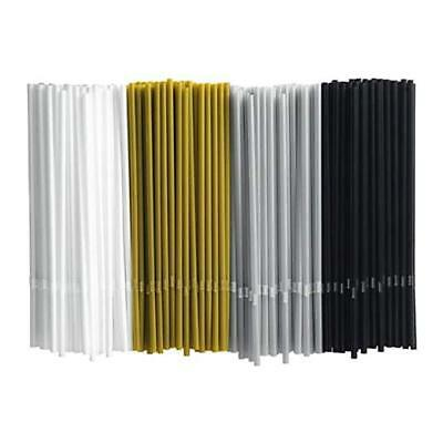 IKEA Vinter Drinking Straw Black White Gold Silver Color 200 Pack 104.032.23](Black And White Straws)