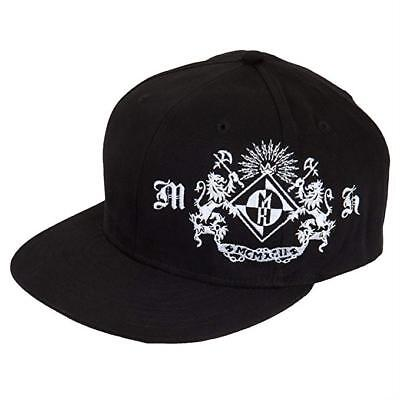 Head Fitted Cap (Machine Head LION CREST Baseball Cap Hat Fitted Heavy Metal New 100% Authentic)