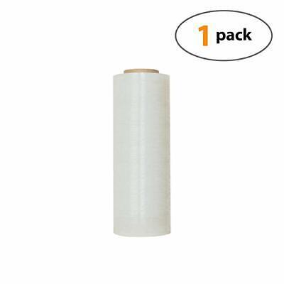 Industrial Hand Stretch Wrap Plastic Film 18 X 1000ft X80 Gau 1 Roll-7.5lb