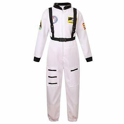 Space Astronaut Costume for Little Kids' Role Play-White