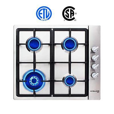Gasland chef GH60SSC Built-in Gas Stove Top 24'' With 4 Sealed Burners