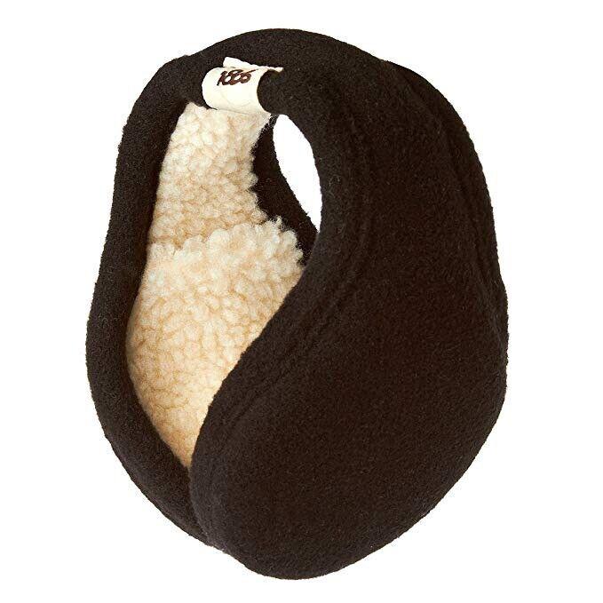 180s Tahoe Fashion Fleece Black Behind The Head Ear Warmers