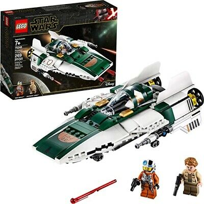 LEGO 75248 Star Wars: The Rise of Skywalker Resistance A-Wing Starfighter NEW