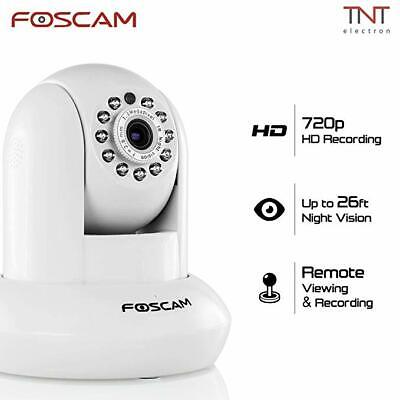 Foscam FI9821P Plug and Play White with FR305 WiFi 300Mbps 2.4 Ghz Router