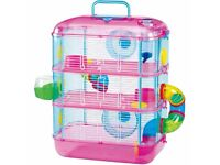 3tier hamster cage never been opened unwanted gift £25