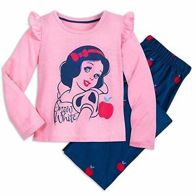 Disney Store Snow White Pajama Set Girls PJ's 5/6,9/10 New  (Girls Pj Set)