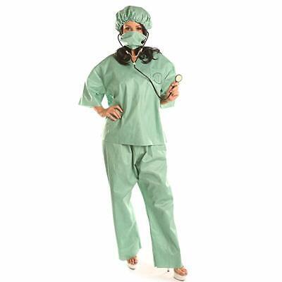 Women's Doctor Surgeon Costume Halloween Cosplay Suits - Halloween Surgeon