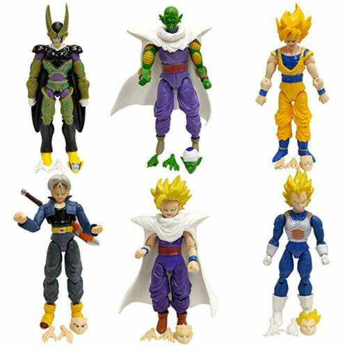 Dragon Ball Z Action Figures 6 piece 5 inch