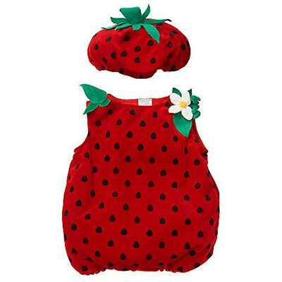 Koala Kids Strawberry Plush Halloween Costume Dress Up Infant Baby girls Fruit - Strawberry Halloween Costume
