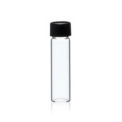 144 Pcs Clear 2 Dram 14 Oz Glass Vials W Screw Caps