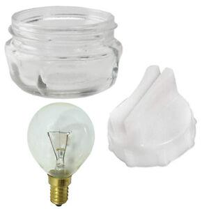 For NEFF Oven Cooker Screw In Glass Lamp Lens Cover Removal Tool + Light Bulb