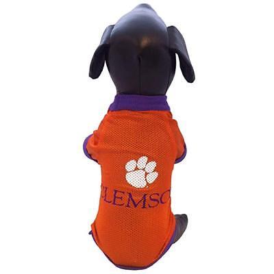 Clemson Tigers Dog Jersey - CLEMSON TIGERS NCAA Pet Dog Premium Mesh Jersey  (8 sizes)