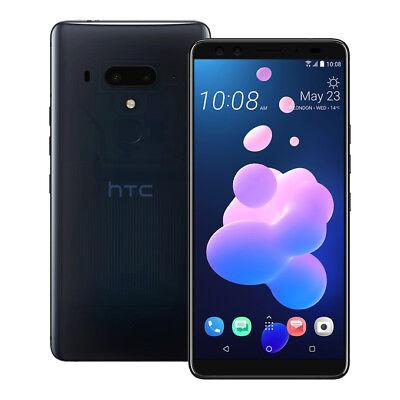 """NUOVO HTC U12 Plus (2Q55100) 6"""" 6GB / 128GB LTE Doppia SIM SBLOCCATO BLU"""