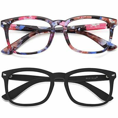 MEETSUN Blue Light Blocking Glasses, Anti Eye Strain Headache (Sleep