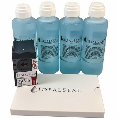 Sealing Solution 4 oz Dabber Bottles, 50 4 x 6 Postage Meter Tape,Ink Cartridge