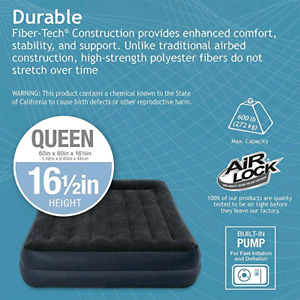 INTEX DURA-BEAM series QUEEN airbed - NEW - NEVER USED