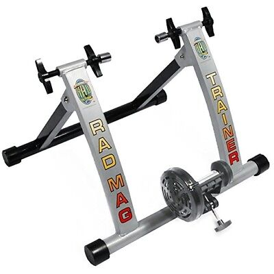 Rad Mag Cycle Products Indoor Portable Magnetic Resistance Bicycle Trainer